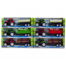 Tractor with trailer Friction XL 6 assorted 13,5x4
