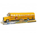 Bus School Bus Friction Yellow 30cm