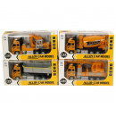 Die-Cast Truck Pull back 4 assorted 12x25,5cm