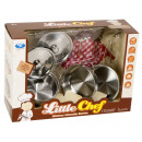 Cookware set Stainless steel Play set 9 pieces