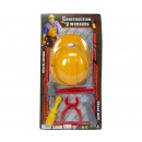 Construction Play set Helmet with tools 5 pieces