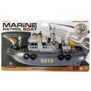 Boat Marine Patrol Boat with light and sound on ka