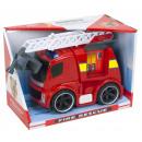 nagyker Játékok: Tűzoltó motor Súrlódás Tűzoltás világítással és g