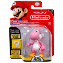 Super Mario Figurine in Blisterpack Pink Yoshi 17x