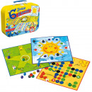 Schmidt Game set in metal case 20x27cm (FR)