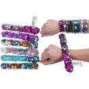 ingrosso Gioielli & Orologi: Snap Bracelet 6 assortiti 23cm