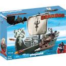 Playmobil Dragons 's Drako's ship 45 pièce