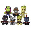 Guardians of the Galaxy pluszowe 7 różnych 18 cm