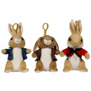 Peter Rabbit Bagclip 3 assorted (P3-B2-F1)