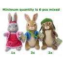 Großhandel Modelle & Fahrzeuge: Peter Rabbit & Friends 3 sortiert 53cm