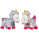 Fluffy Unicorn S3 Onesie 2 assorti 23x28cm