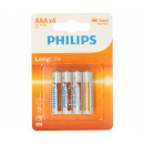 Philips LongLife R03 AAA 4 pieces