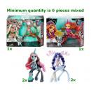 Großhandel Sonstige: Monster High Fright Mares 5 sortiert