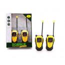 Science Explorer walkie talkie range +/- 80 meters