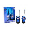 Police walkie talkie range +/- 80 meters.