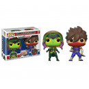 POP!X Games Marvel Capcom 2-Pack Gamora/S