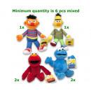 mayorista Artículos con licencia: Sesame Street Plush 4 regalo surtido 17cm
