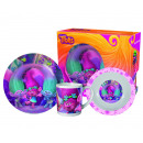 Trolls breakfast set in gift box