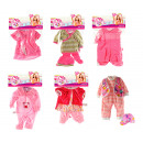 Clothing for baby doll 20-30cm Cute Baby 6 assorti