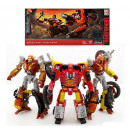 Transformer Planet lub Junk Clash 3pack Platinum E