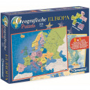 Clementoni Geographical 2in1 Puzzle Europe 28x39cm