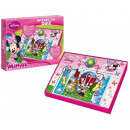 Disney Minnie interactive quiz 28x37cm (NL + FR)
