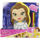ingrosso Prodotti con Licenza (Licensing): Cuscini Disney Princess Color and Go con pennarell
