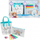 Disney frozen bag and pouch character set