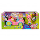 Barbie Video Game Car with figure 16x35cm