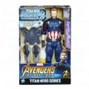wholesale Scarves, Hats & Gloves: Marvel Avengers Captain America with sound 20x30cm