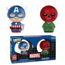 Dorbz Captain America & RedSkull 2er-Pack