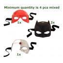 Großhandel Scherzartikel: Justice League-Held Masken 3-fach sortiert
