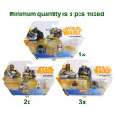 Hot WheelsStar Wars Battle Rollers 2-Pack 3 assor