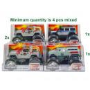 Matchbox Jurassic World Vehicles 3 assorted 1:24