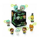 Funko Keychain Plush Rick & Morty in Display