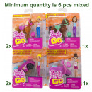 Barbie on the Go Motorized assortment 14x15cm