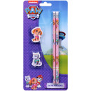 Paw Patrol Stationary set 4 pieces 11.5x24cm