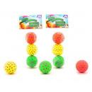 Hi-Bounce balls 6,5cm, 3 pieces in a bag