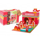 Jouéco® - Wooden fire station 13-piece