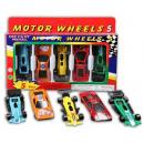 Großhandel Kinderfahrzeuge: Autos Die-Cast 5 Stück 7cm