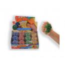 Großhandel Sonstige: Squeezy Ball Powder Glitter 6cm 4 sortiert