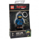 LEGO Nijago Blue Ninja Mini LED torch with key