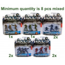 grossiste Vetement et accessoires: Halo Wars Heroic Collection 3-Pack 3 assortis de 1