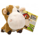 Big Headz Plush Cow 11 cm