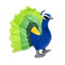 Plush peacock 33cm