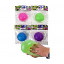 Glitter Slime Ball 4 assorted 10 cm