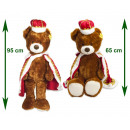 Plush Bear King with Cape 95cm (Sunkid)