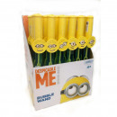 grossiste Jouets de plein air: Minions Bubble épée 24x en Display