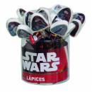 ingrosso Articoli da Regalo & Cartoleria: Matita Star Wars con gomma assortita in Giftbox