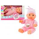 Baby doll in window box 22,5cm Sweety